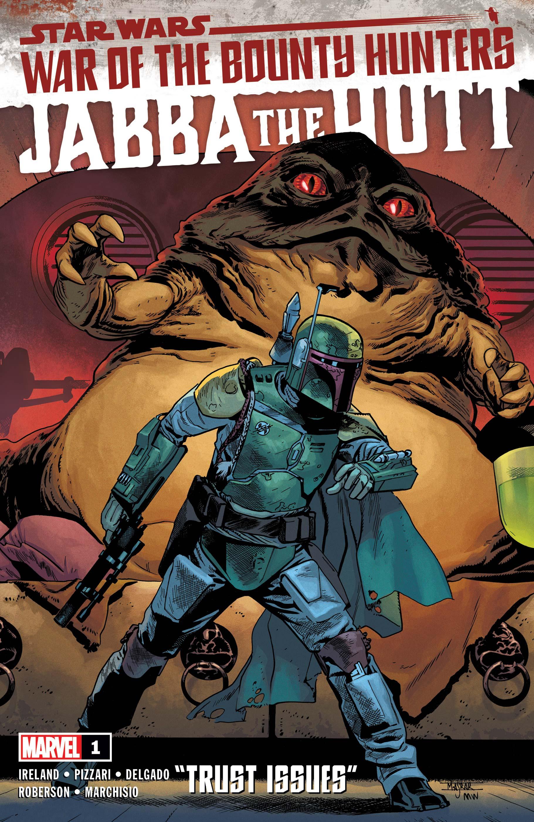 Star Wars: War of the Bounty Hunters - Jabba the Hutt (2021) #1