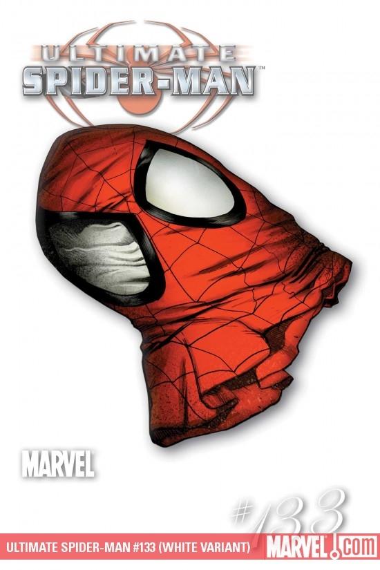 Ultimate Spider-Man (2000) #133 (WHITE VARIANT)