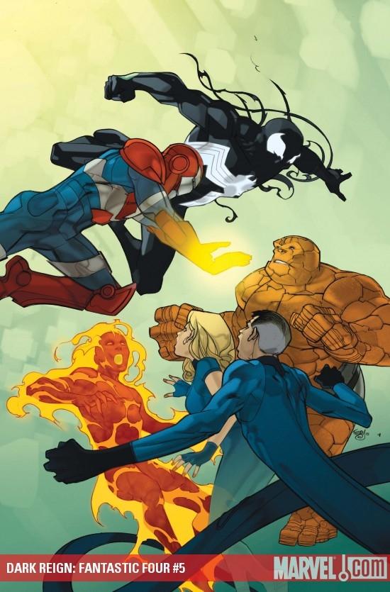 Dark Reign: Fantastic Four (2009) #5