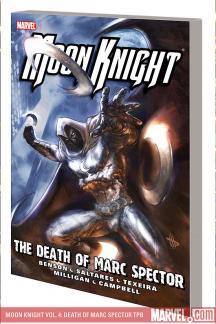 Moon Knight Vol. 4: Death of Marc Spector (Trade Paperback)