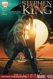 Dark Tower: Treachery #3  (FERRY VARIANT)