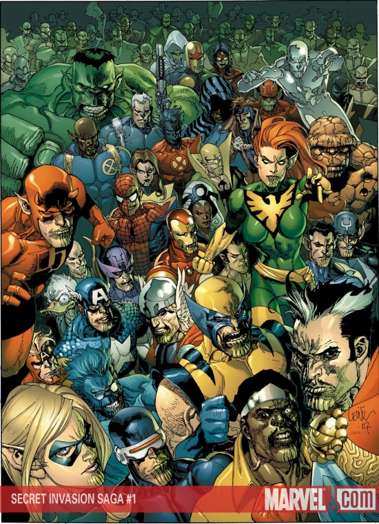 Secret Invasion Saga (2008) #1