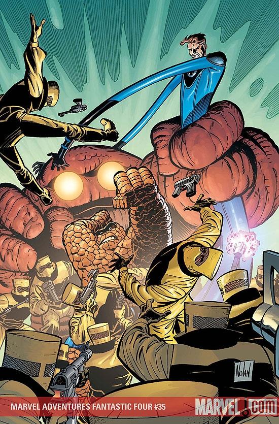 Marvel Adventures Fantastic Four (2005) #35