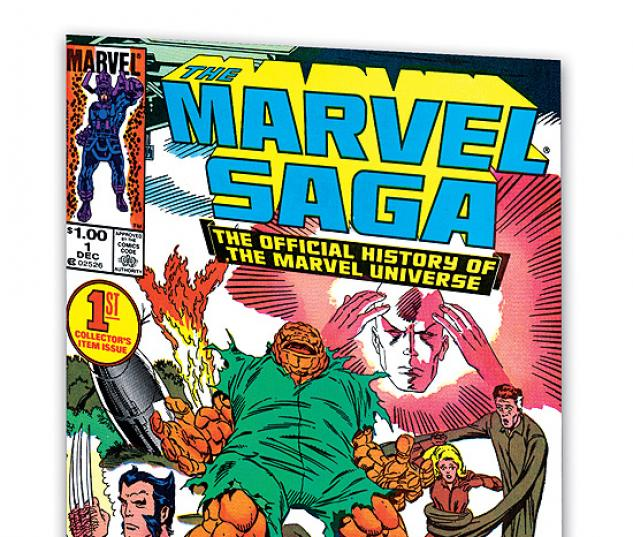 ESSENTIAL MARVEL SAGA VOL. 1 #0