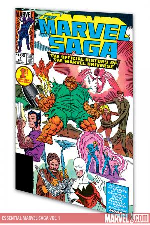 Essential Marvel Saga Vol. 1 (Trade Paperback)