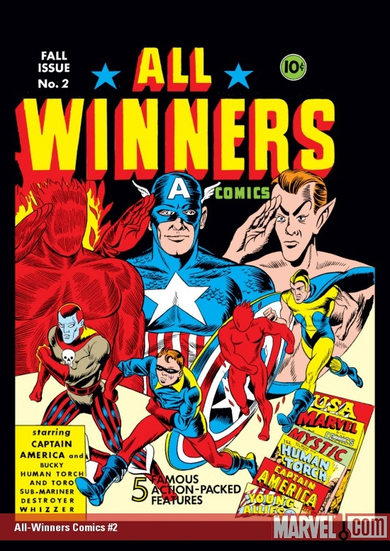 All-Winners Comics (1941) #2