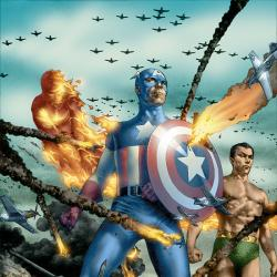 GIANT-SIZE INVADERS (2007) #2 COVER