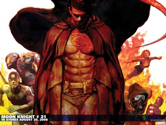 Moon Knight (2006) #21 Wallpaper