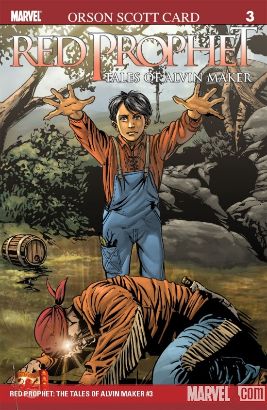 Red Prophet: The Tales of Alvin Maker (2006) #3