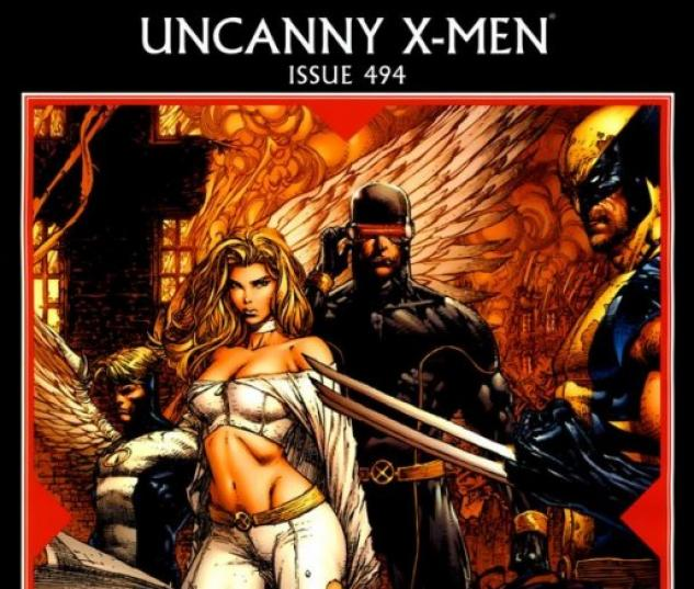 UNCANNY X-MEN #494 cover by David Finch