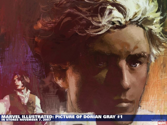 Marvel Illustrated: Picture of Dorian Gray (2007) #1 Wallpaper