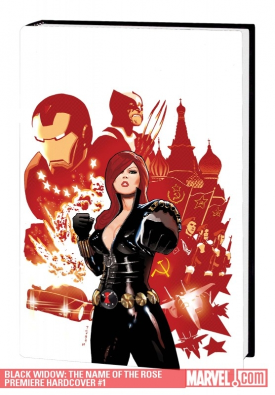 Black Widow: The Name of the Rose (Hardcover)