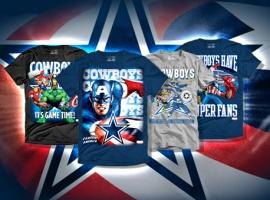 Marvel Teams Up With the Dallas Cowboys