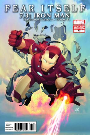 Fear Itself 7.2: Thor (2011) #1 (IRON MAN VARIANT)