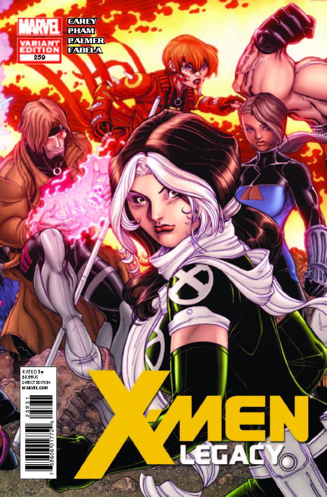 X-Men Legacy (2008) #259 (Bradshaw Variant)