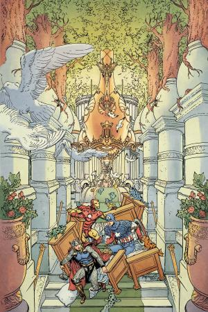 Fantastic Four (1998) #605 (Avengers Art Appreciation Variant)