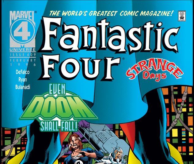 Fantastic Four (1961) #409 Cover