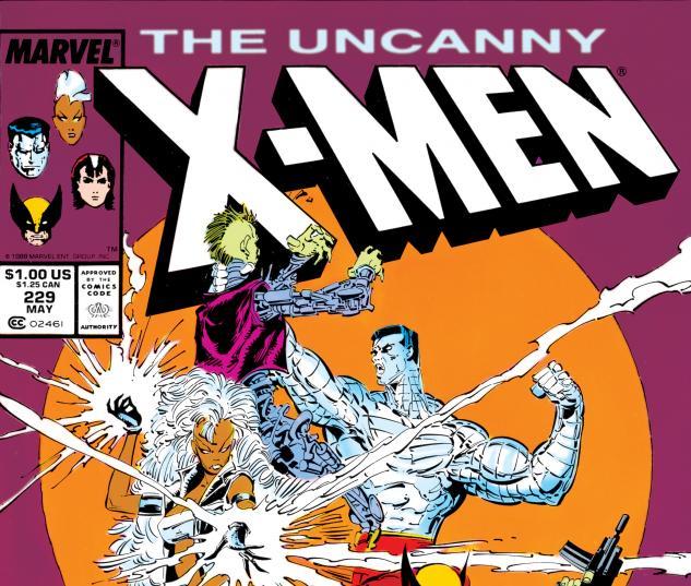 Uncanny X-Men (1963) #229 Cover
