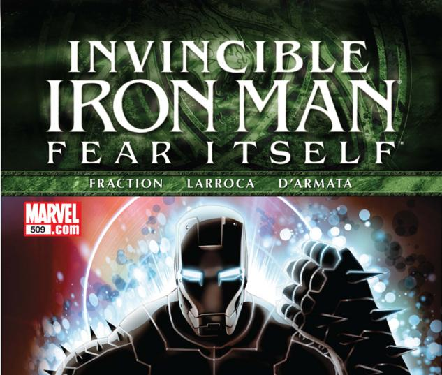 Invincible Iron Man (2008) #509