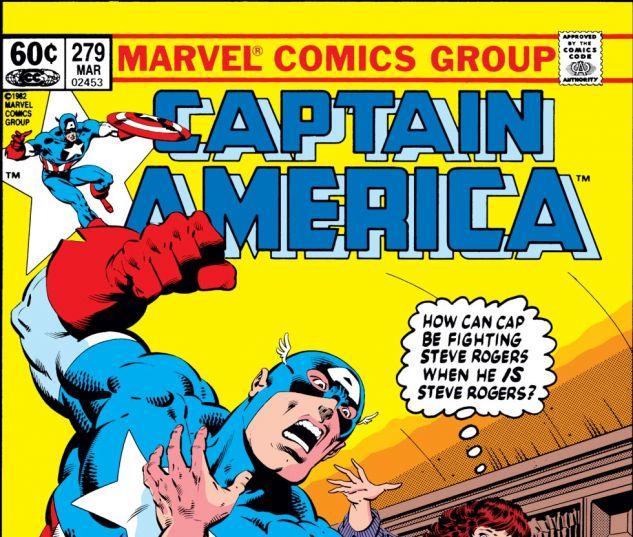 Captain America (1968) #279 Cover