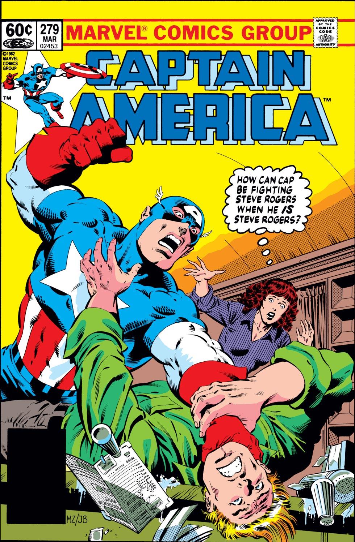 Captain America (1968) #279