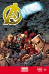 cover from Avengers (2012) #26