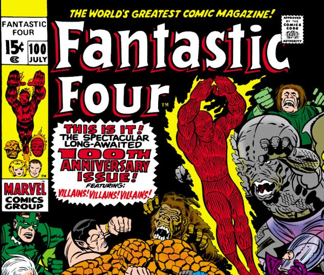 Fantastic Four (1961) #100 Cover
