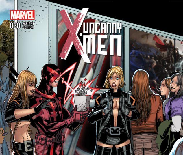 UNCANNY X-MEN 30 LARROCA WELCOME HOME VARIANT (WITH DIGITAL CODE)