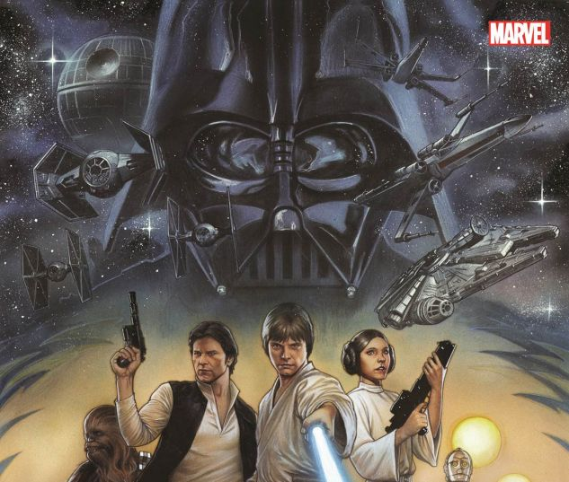 Star Wars: Episode IV A New Hope OGN cover by Adi Granov