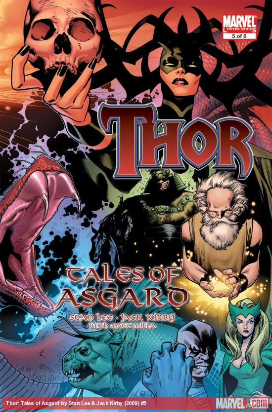 Thor: Tales of Asgard by Stan Lee & Jack Kirby (2009) #5