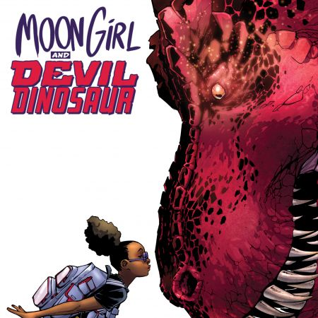 Moon Girl and Devil Dinosaur #1 Cover by Amy Reeder