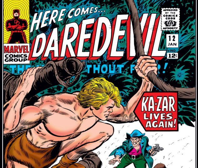 DAREDEVIL (1964) #12 Cover