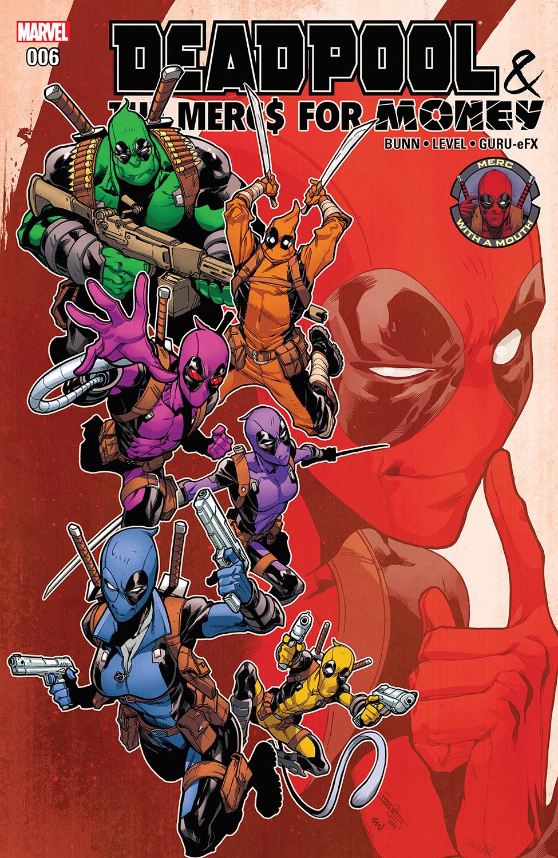 Deadpool & the Mercs for Money (2016) #6