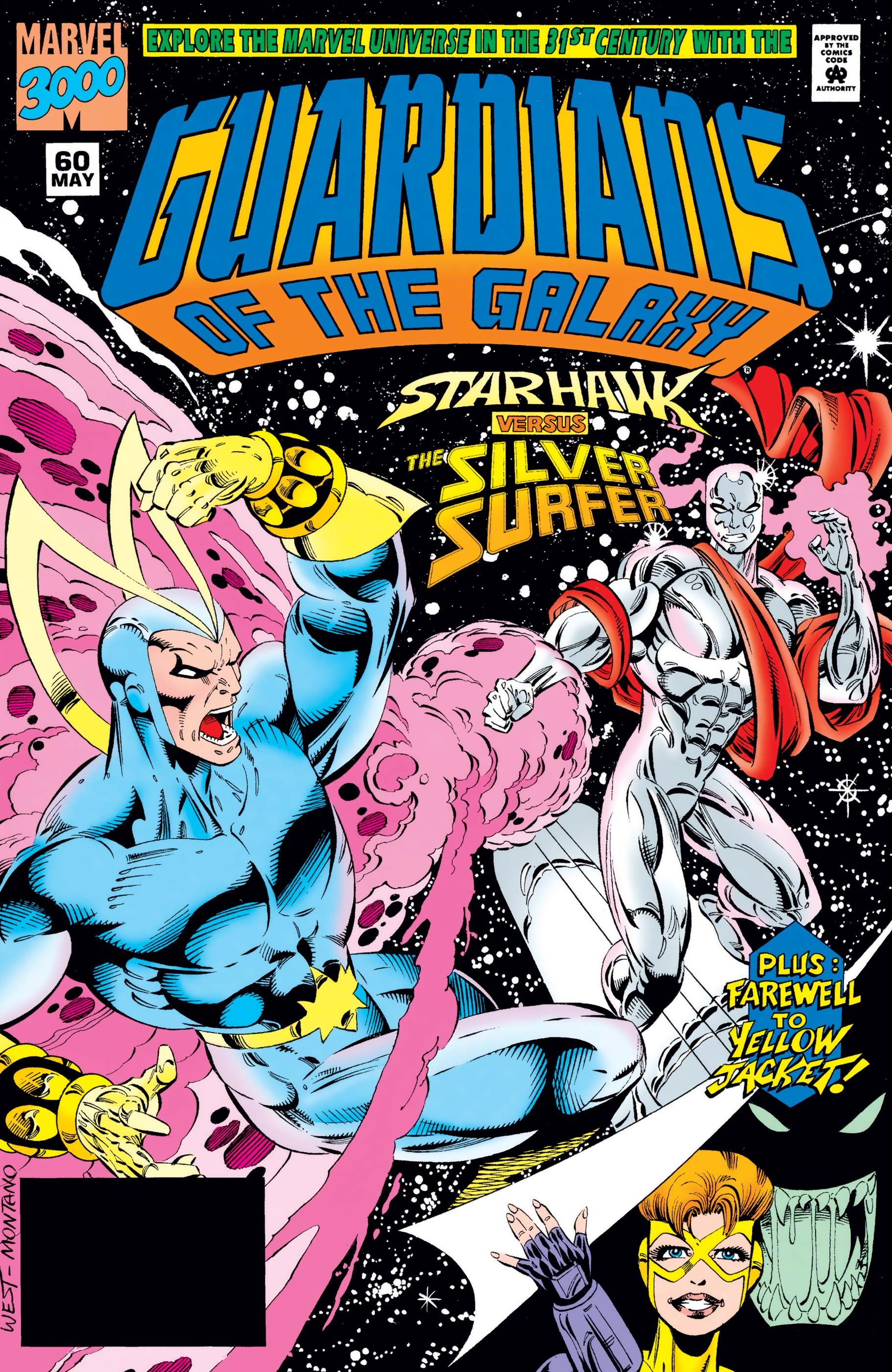 Guardians of the Galaxy (1990) #60