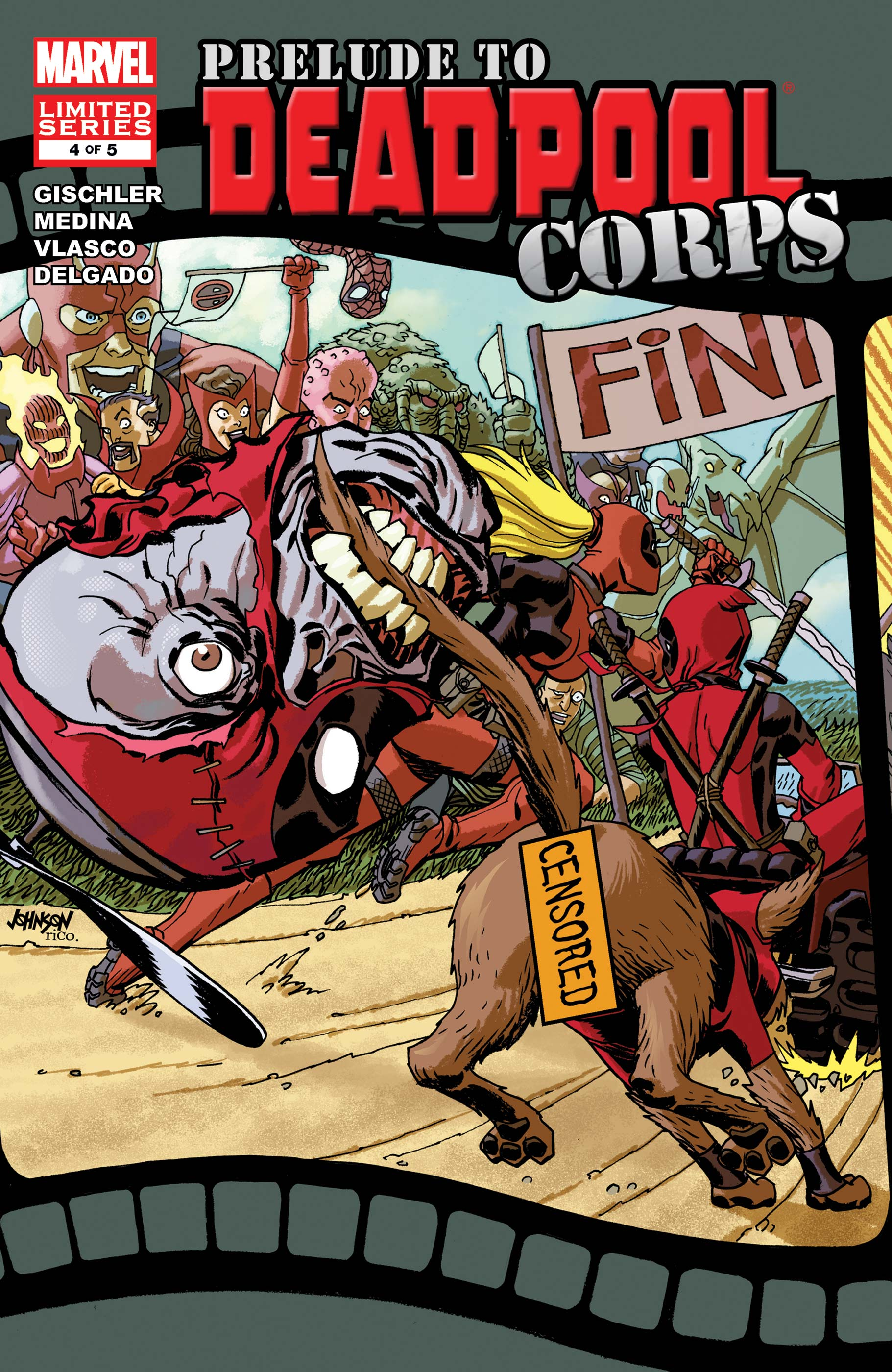 Prelude to Deadpool Corps (2010) #4