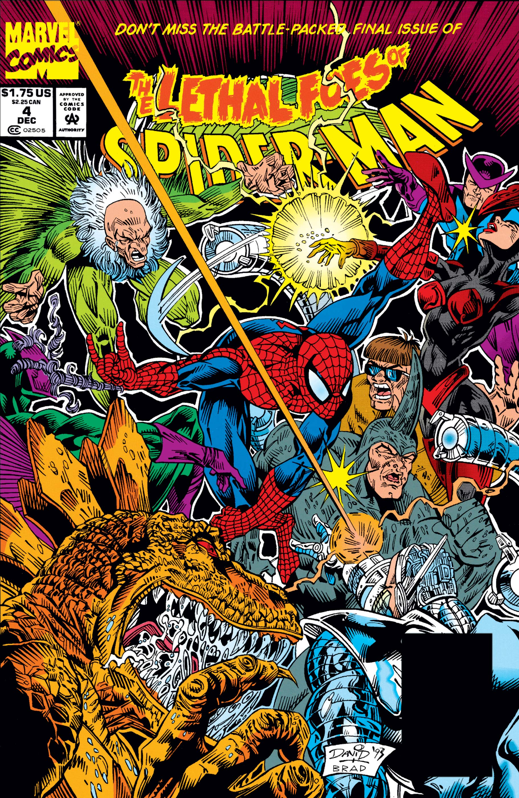 Lethal Foes of Spider-Man (1993) #4