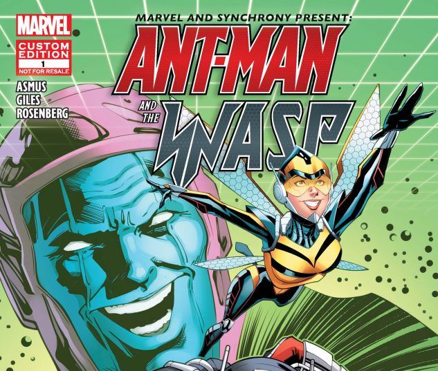 Custom Synchrony 2018 Ant-Man Digital Comic (2018) #1
