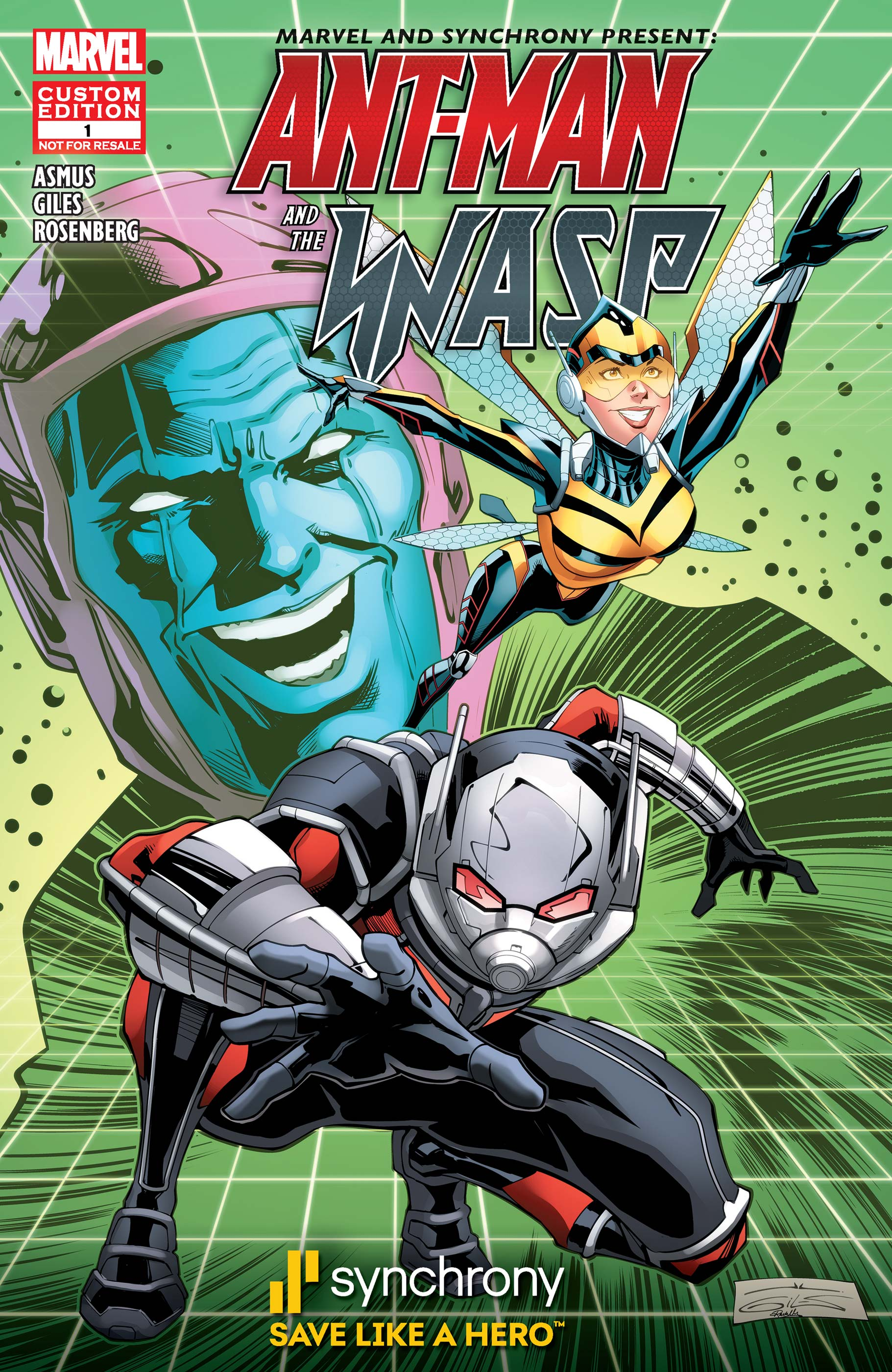 Marvel and Synchrony Present Ant-Man and the Wasp: Saving Time (2018)
