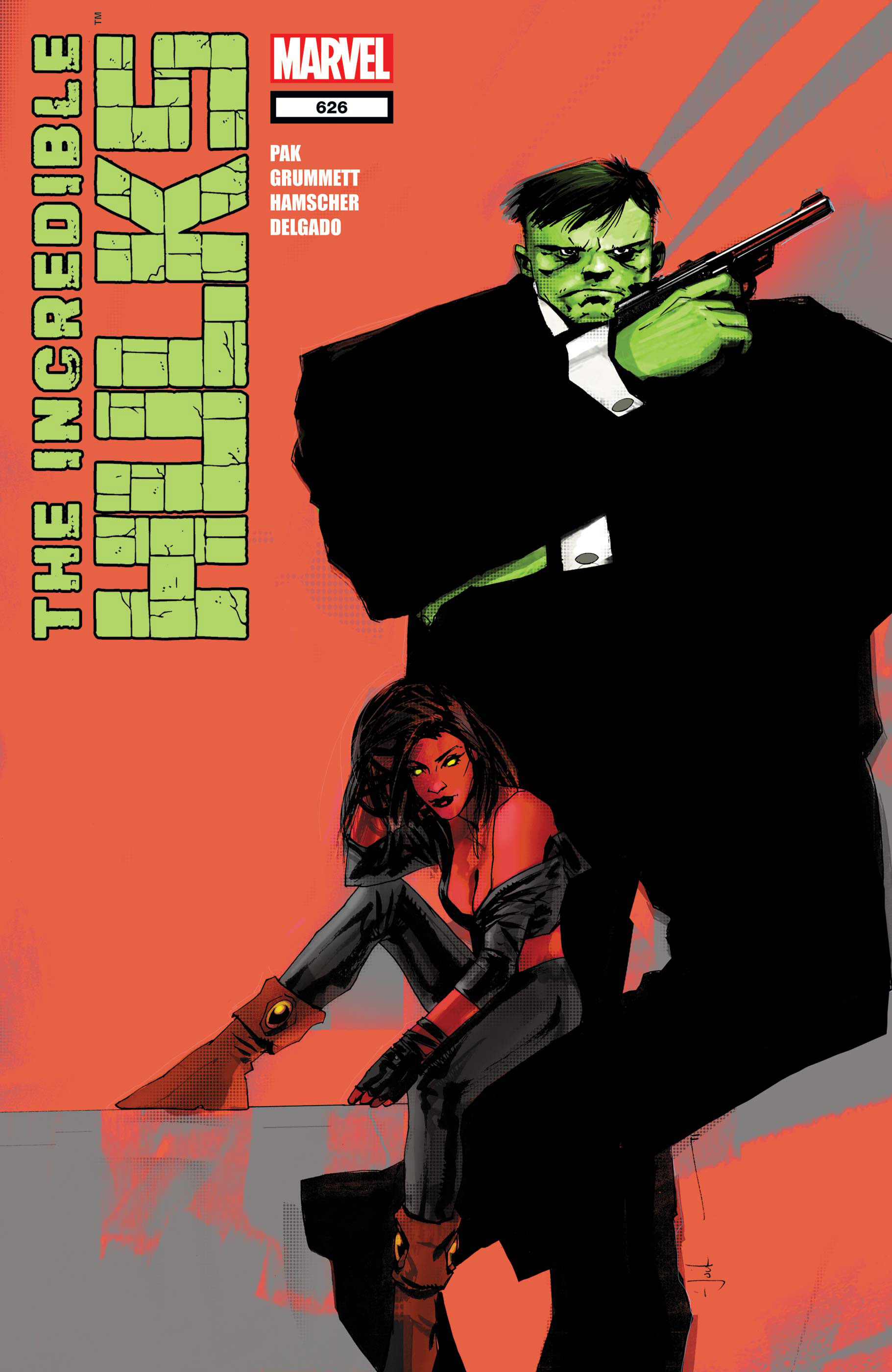 Incredible Hulks (2010) #626