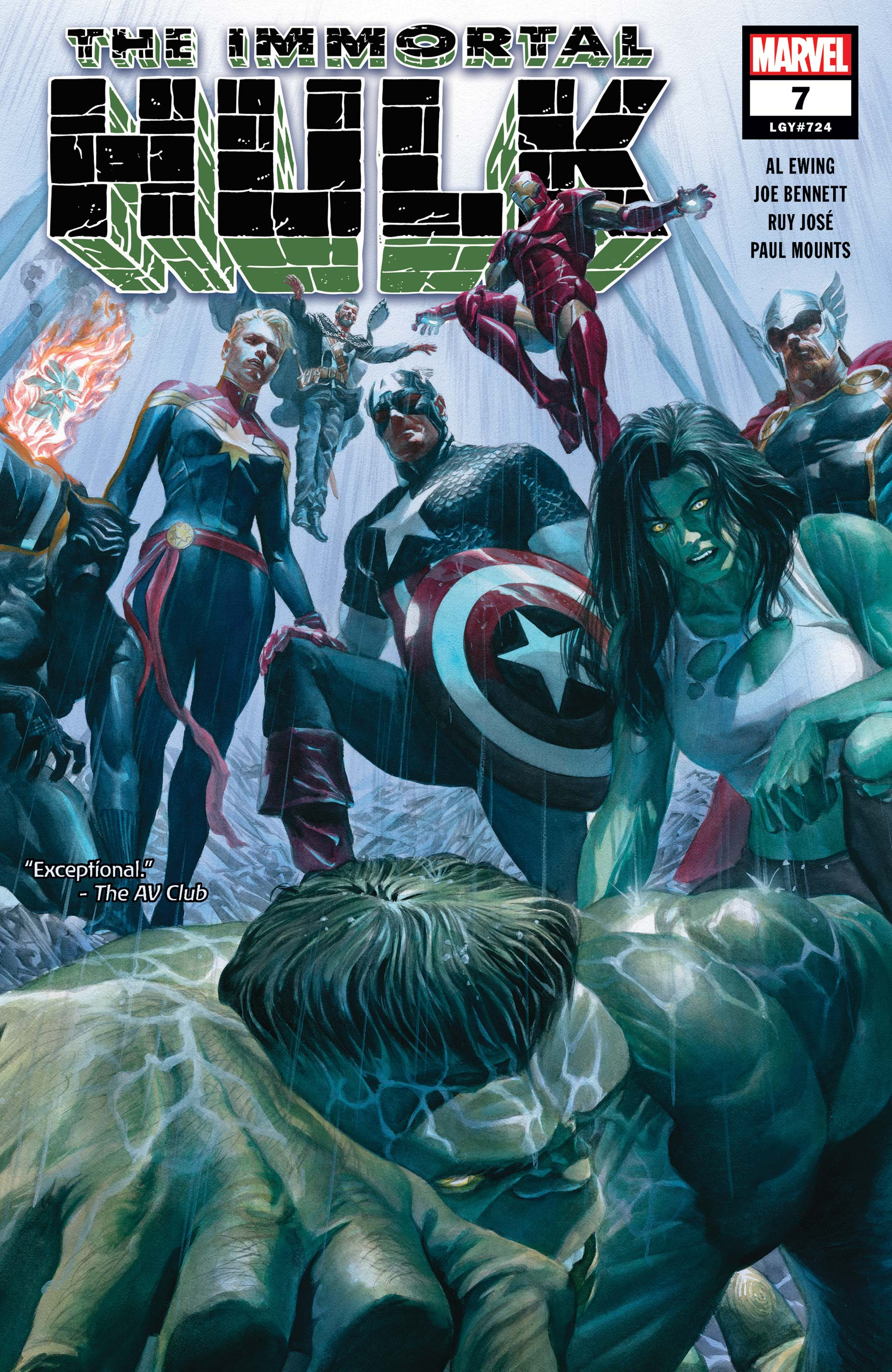 Immortal Hulk (2018) #7