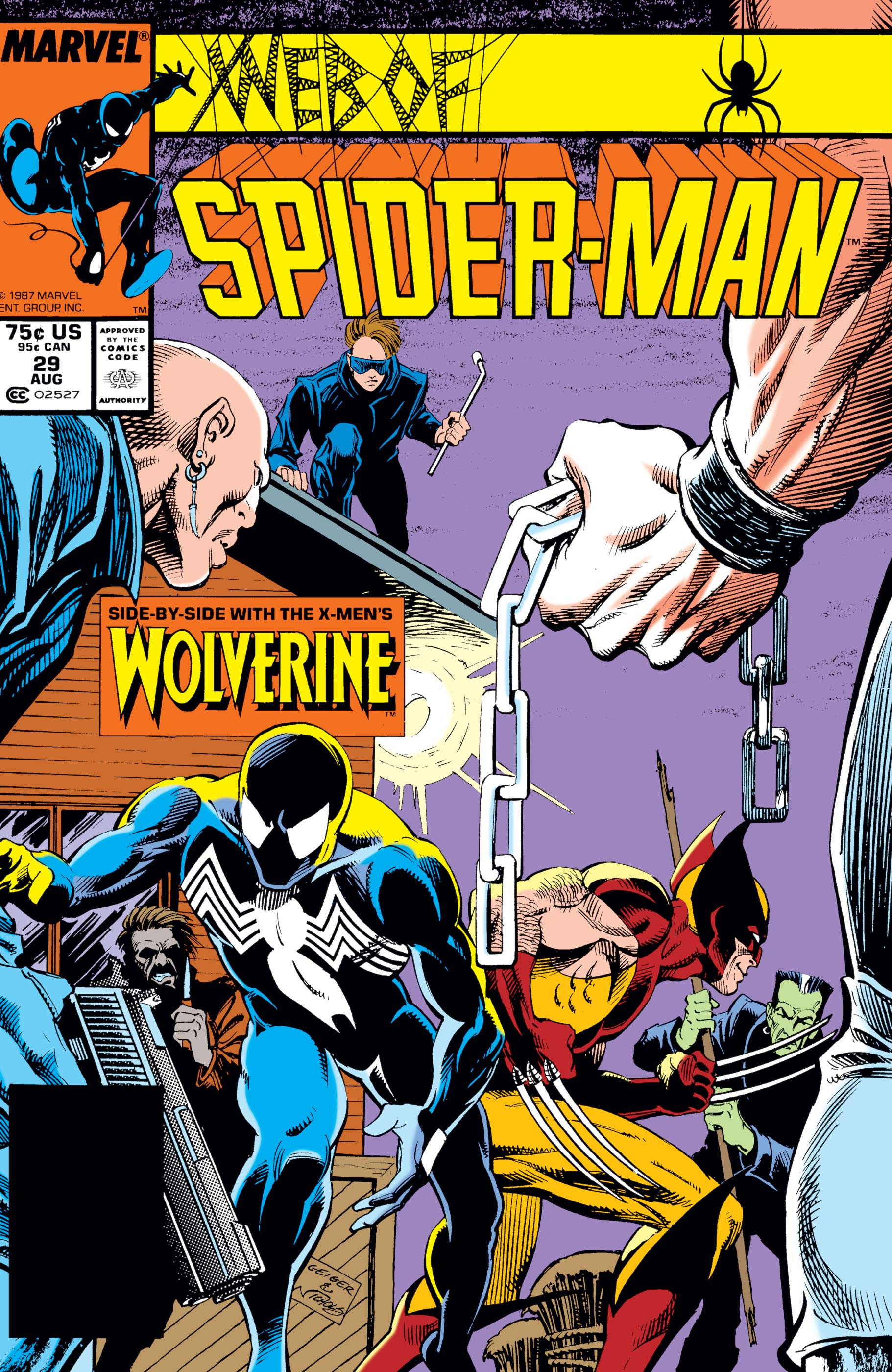 Web of Spider-Man (1985) #29