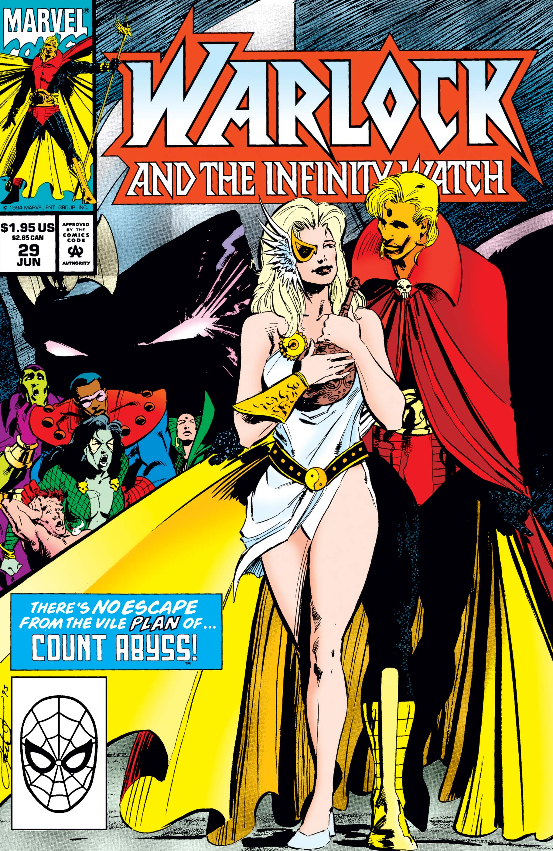 Warlock and the Infinity Watch (1992) #29