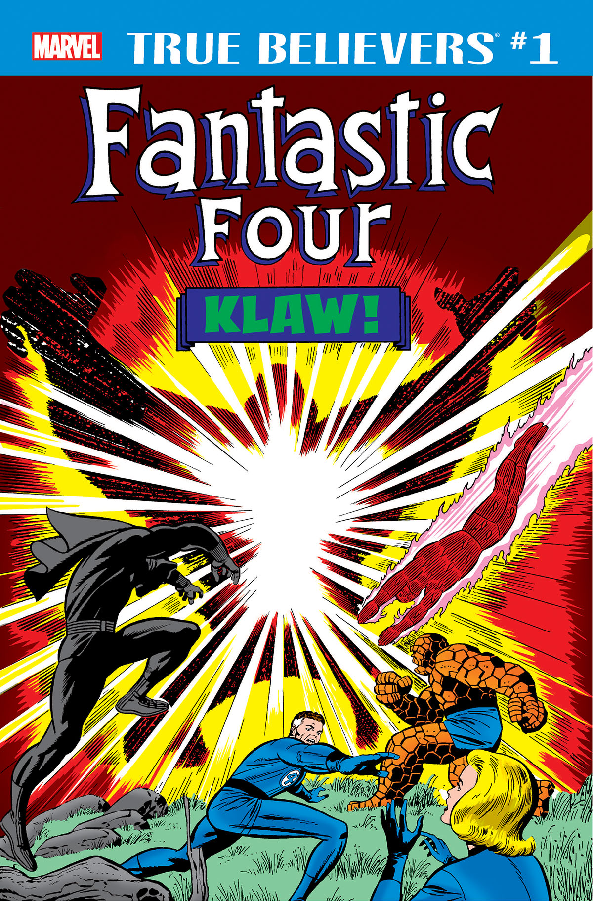 True Believers: Fantastic Four - Klaw (2018) #1