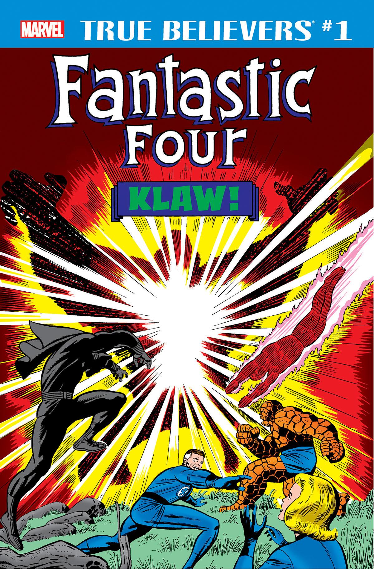 True Believers: Fantastic Four - Klaw (2018) #1