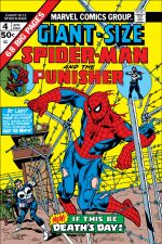 Giant-Size Spider-Man (1974) #4 cover