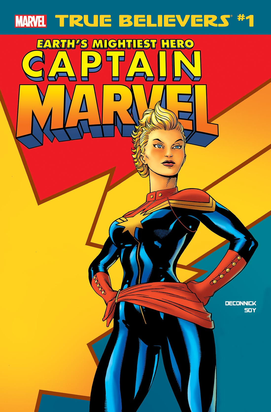 True Believers: Captain Marvel - Earth's Mightiest Hero (2019) #1