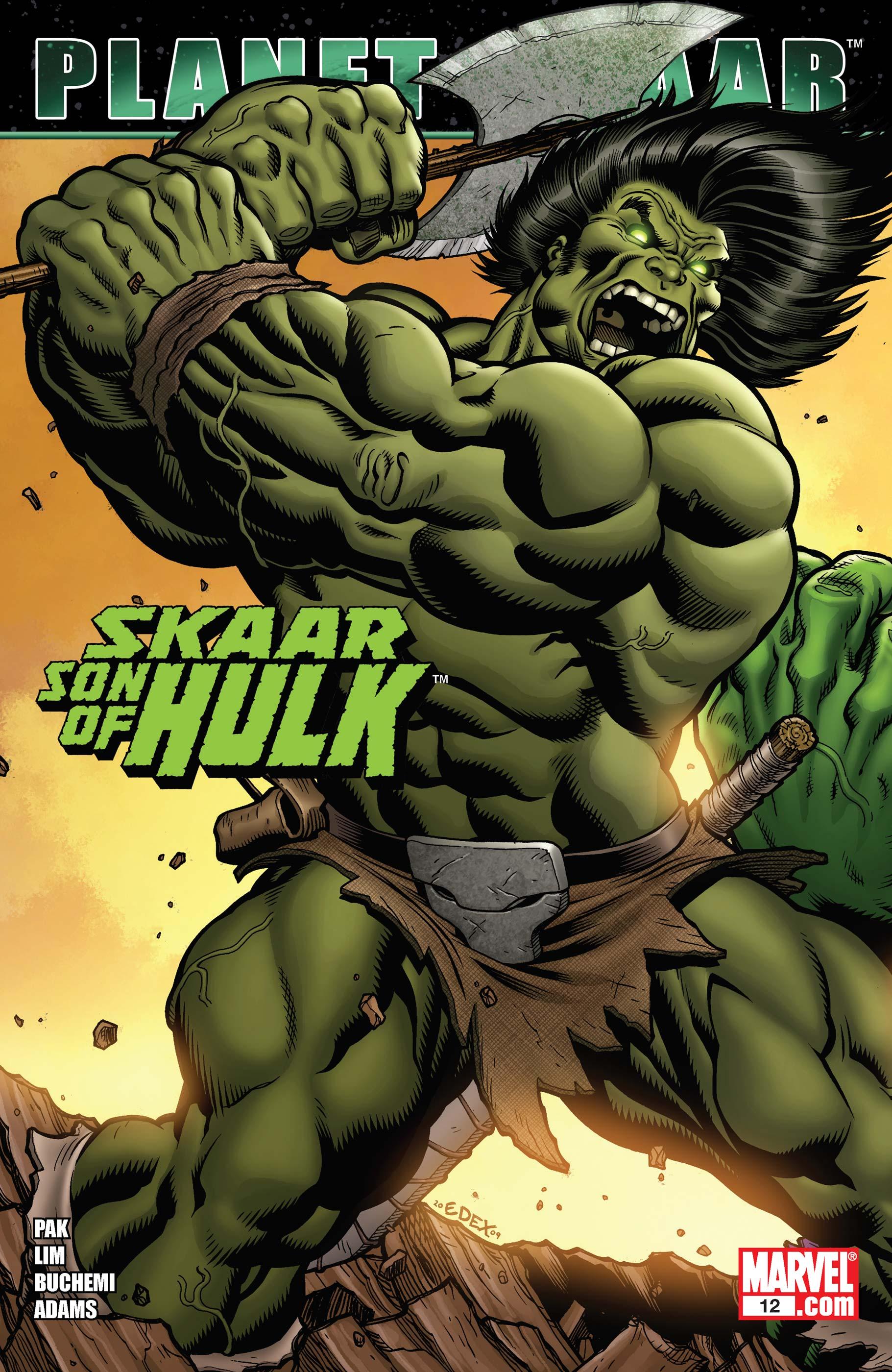 Skaar: Son of Hulk (2008) #12