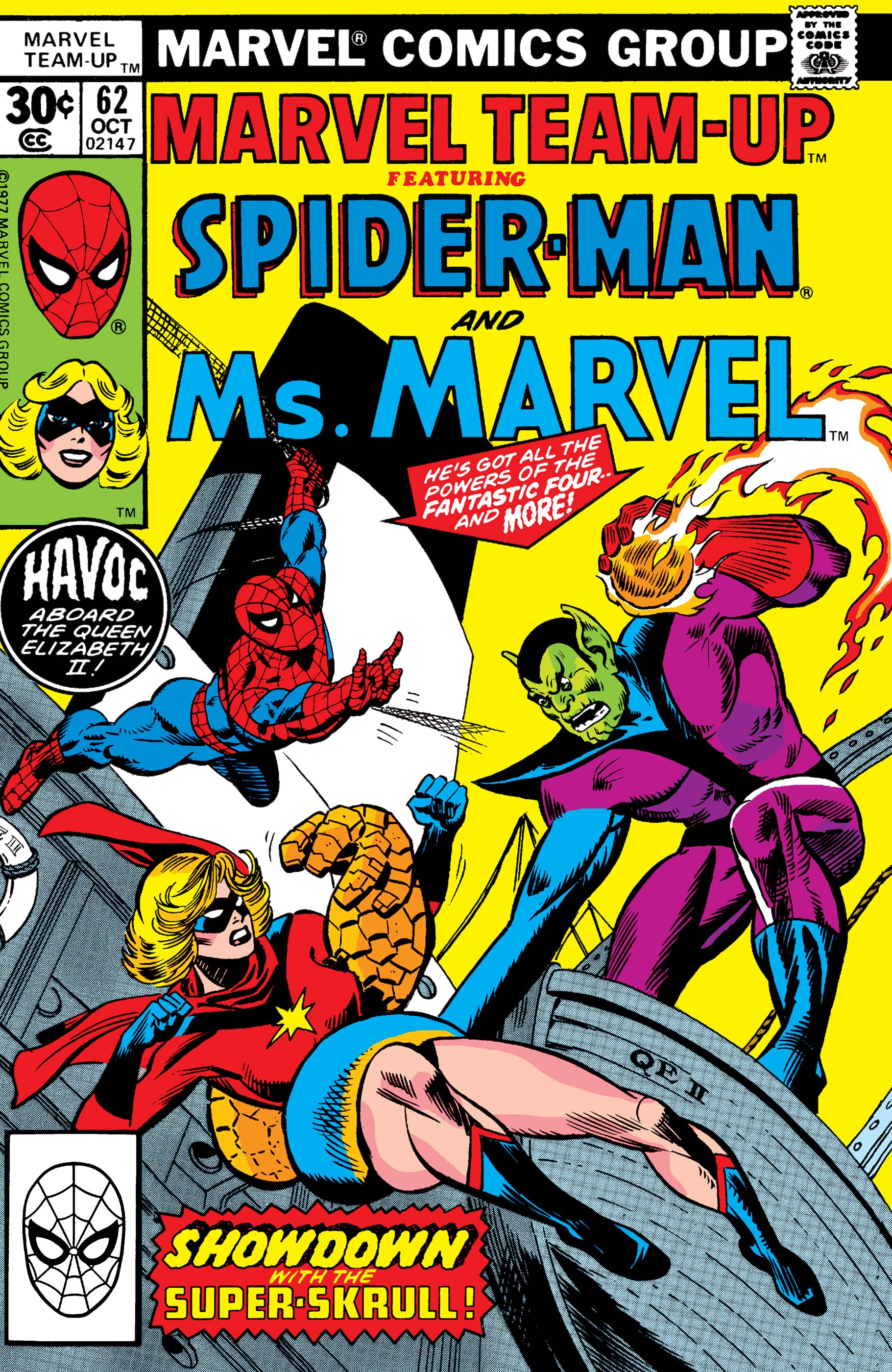 Marvel Team-Up (1972) #62