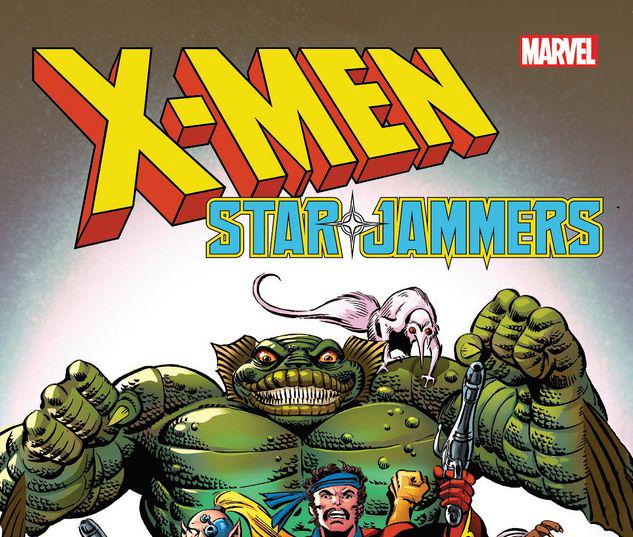 X-MEN: STARJAMMERS BY DAVE COCKRUM TPB #1