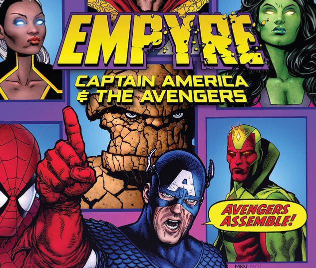 EMPYRE: CAPTAIN AMERICA & THE AVENGERS TPB #1